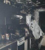 10.01.21 — гибель жителя от угарного газа в квартире в респ. Хакасия (Абакан)