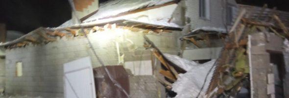 13.01.21- взрыв газового баллона автомобиля в гараже жилого дома в Ульяновской обл (Димитровград)