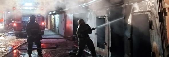 02.01.21 — взрыв газа в гаражном боксе в Волгоградской обл. (Волжский)